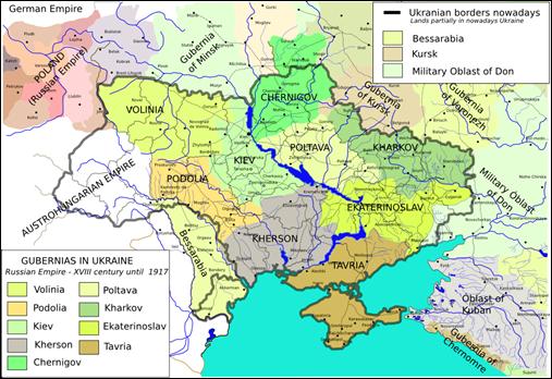 Ukraine And Russia Map.Ukraine Sig Introduction To Ukraine Sig