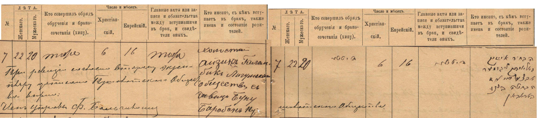 Lithuania Vital Records Database