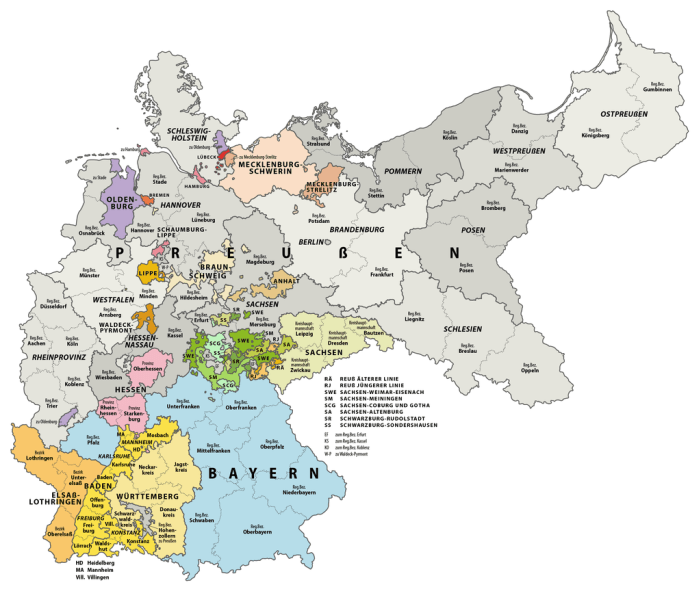 Map Of Germany 1900.Gersig Home