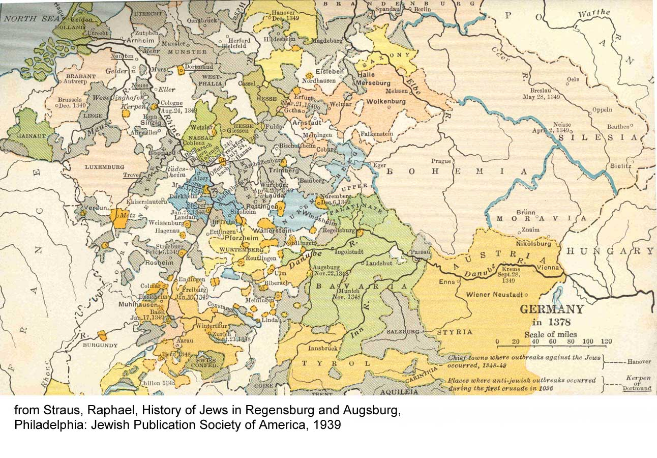 GerSIG Resources - West germany resources map