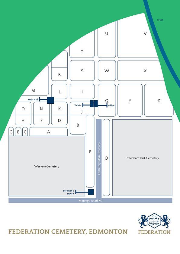 Edmonton Federation Cemetery Plan