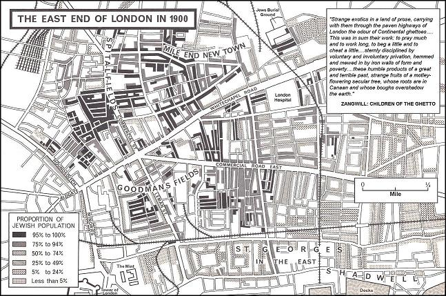 synagogues in the east end and city of london listed according to name of street in which they are or were situated