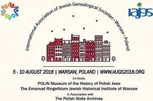 2018 IAJGS Conference in Poland